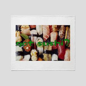 got sushi ? Throw Blanket