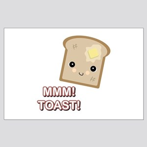 MMM! Toast Large Poster