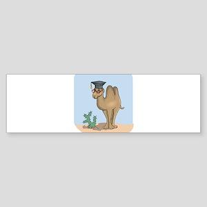 Smart Graduate Camel Sticker (Bumper)