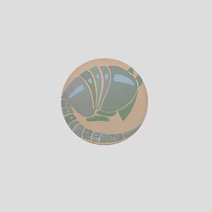 Armadillo Mini Button