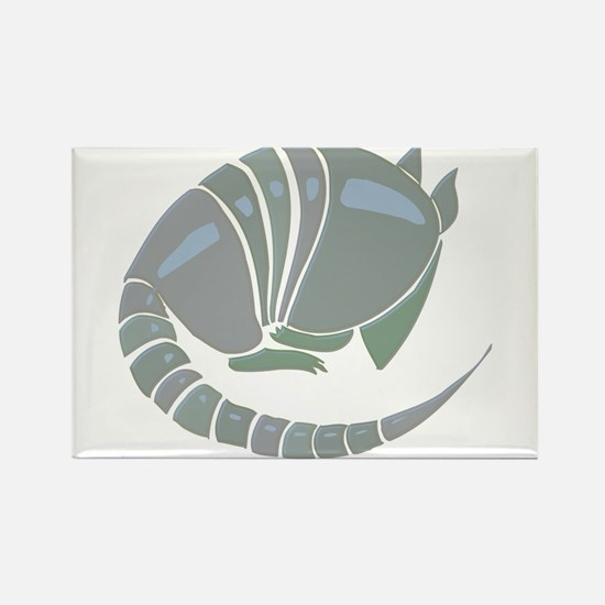 Armadillo Rectangle Magnet (10 pack)
