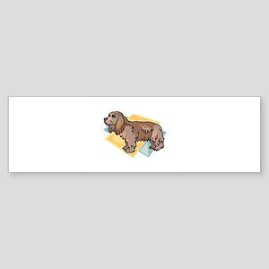 Cocker Spaniel Sticker (Bumper)