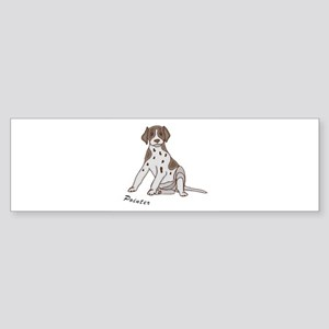 Sitting Pointer Sticker (Bumper)