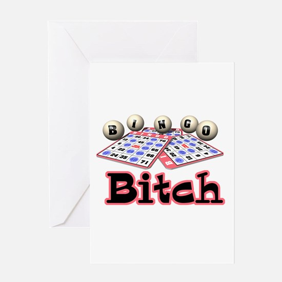 Bingo Bitch Greeting Card