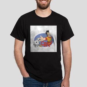"""""""Oh Crap"""" Craps Roller Dark T-Shirt"""