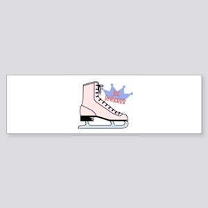 Ice (Skating) Princess Sticker (Bumper)