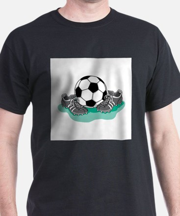 Soccer Ball and Cleats T-Shirt