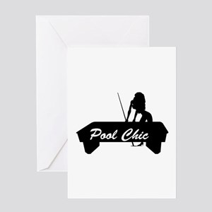Sexy Pool Chic Greeting Card