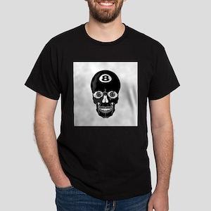 Eight Ball (8 Ball) Skull Dark T-Shirt