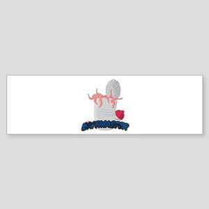 Baitmaster Can of Worms Sticker (Bumper)