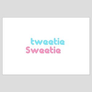 tweetie sweetie Large Poster