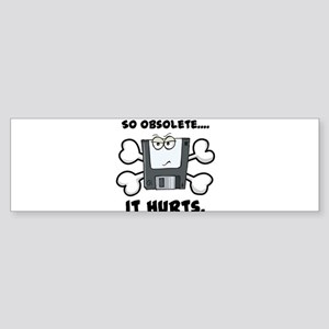 So Obsolete It Hurts (Floppy Sticker (Bumper)