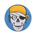 Colored Pirate Skull 3.5