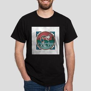 Colorful Kokopelli Dark T-Shirt