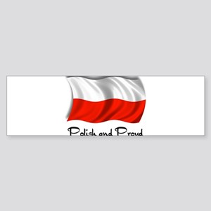 Polish and Proud Sticker (Bumper)
