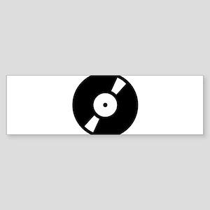 Retro Classic Vinyl Record Sticker (Bumper)