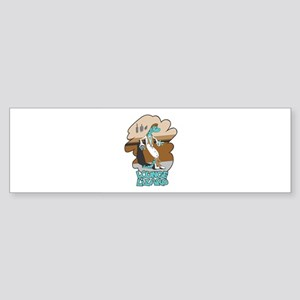 Lounge Lizard Sticker (Bumper)