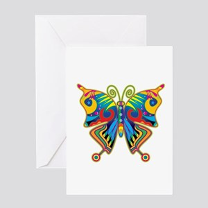 Retro Butterfly Greeting Card