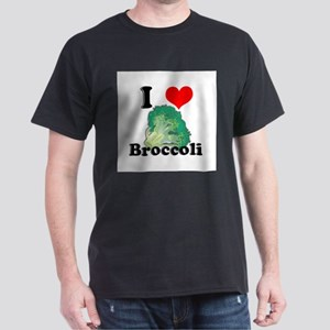 I Heart (Love) Broccoli Dark T-Shirt