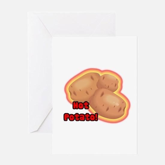 Hot Potato Greeting Card