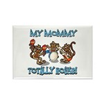 My Mommy totally rocks Rectangle Magnet (10 pack)