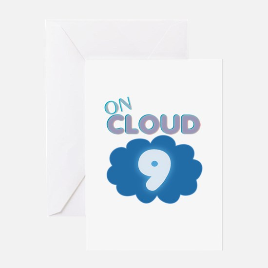 On Cloud Nine Greeting Card