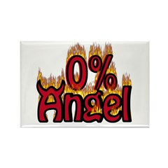0% Angel Rectangle Magnet (100 pack)