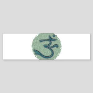 Green Ohm/Om Sticker (Bumper)