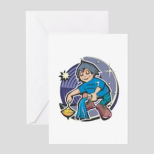 Aquarius Baby Greeting Card