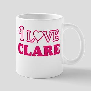 I Love Clare Mugs