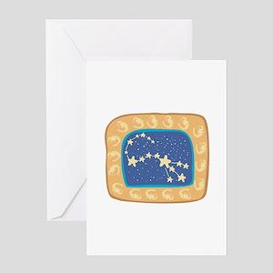 Scorpio Constellation Design Greeting Card
