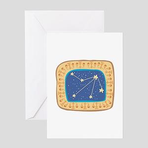 Libra Constellation Design Greeting Card