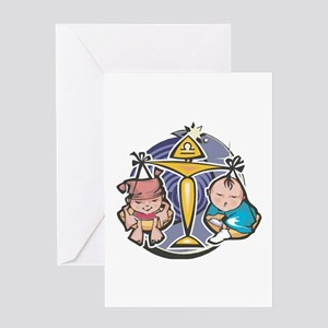 Libra Baby Greeting Card