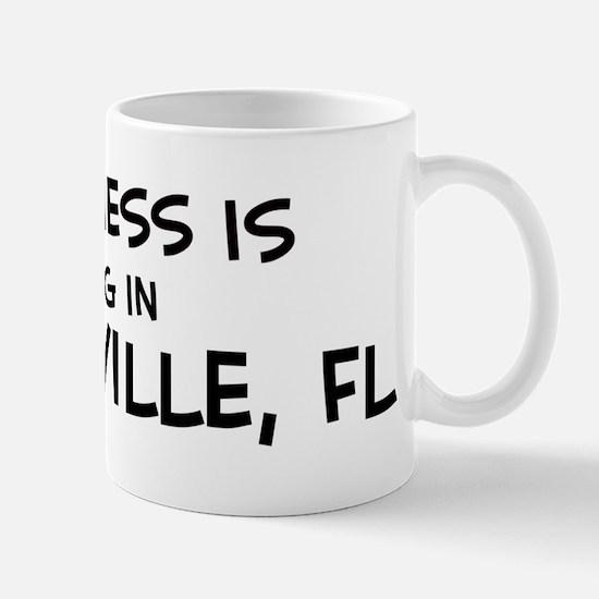 Happiness is Gainesville Mug