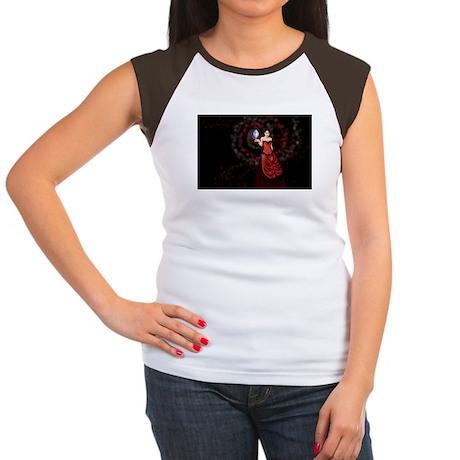 Mage Women's Cap Sleeve T-Shirt