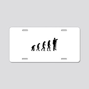 Evolution photographer Aluminum License Plate