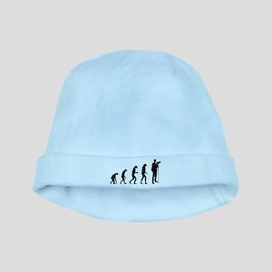 Evolution photographer baby hat