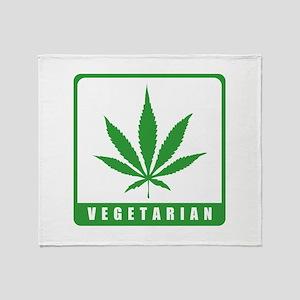 Vegetarian Throw Blanket