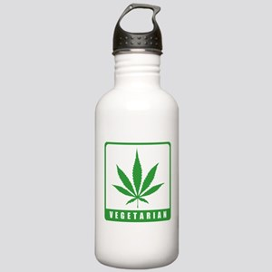 Vegetarian Stainless Water Bottle 1.0L