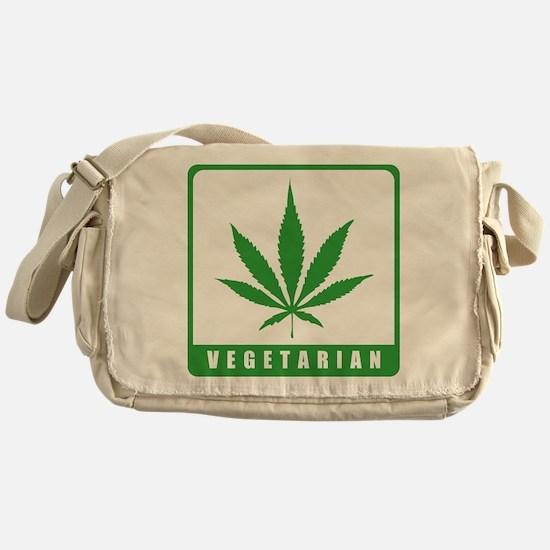 Vegetarian Messenger Bag