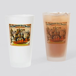 Colonel Schult's Great Danes Drinking Glass