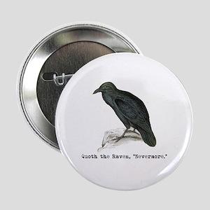 """Edgar Allen Poe 2.25"""" Button"""