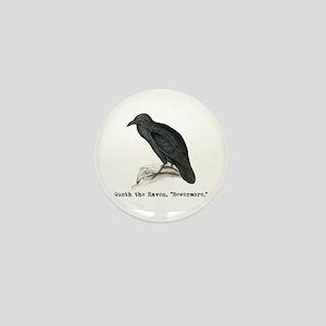 Edgar Allen Poe Mini Button