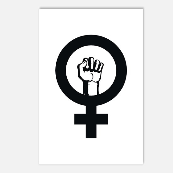 Female Power Postcards (Package of 8)