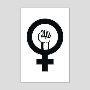 Female Power Mini Poster Print