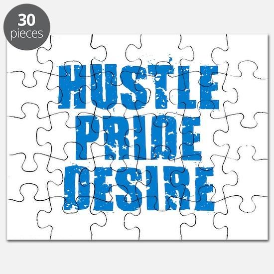 Hustle Pride Desire - Blue Puzzle