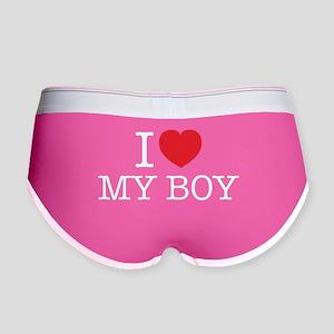 I LOVE MY BOY Women's Boy Brief