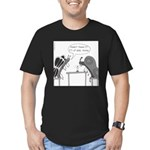 Candlelight Dinner Men's Fitted T-Shirt (dark)