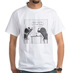 Candlelight Dinner White T-Shirt