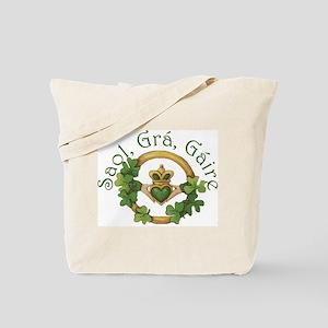 Life, Love, Laughter Tote Bag